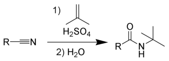 The Ritter reaction
