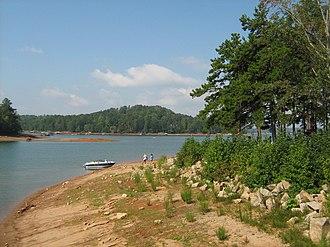 Gainesville, Georgia - Lake Lanier at River Forks Park