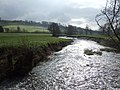 River Yarty - flowing downstream - geograph.org.uk - 427149.jpg