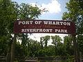 Riverfront Park in Wharton, TX IMG 1057.JPG