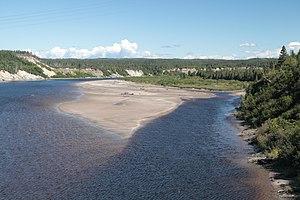 NunatuKavut - St. John's River (now Rivière-Saint-Jean, Quebec)