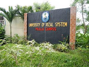 University of Rizal System - URS (Pililla, Rizal Campus).