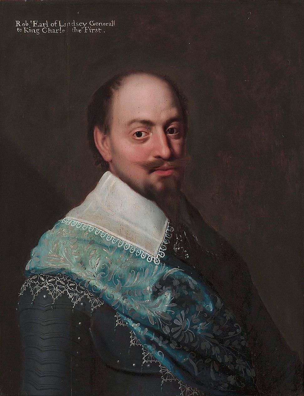 Robert Bertie, 1st Earl of Lindsey, by circle of Michiel Jansz van Mierevelt