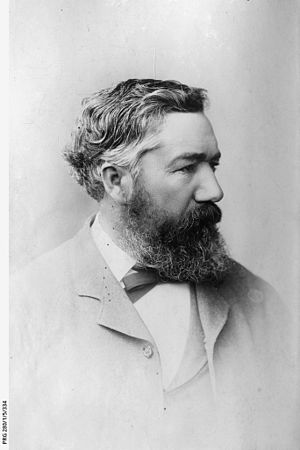 Robert Caldwell (Australian politician) - Robert Caldwell, Member of Parliament and Chairman of the Pastoral Lands Commission in South Australia 1894, State Library of South Australia PRG-280-1-5-334