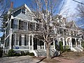 Robert Frost House, 29-35 Brewster Street, Cambridge, MA - IMG 4714.JPG