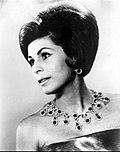 La soprano estadounidense Roberta Peters