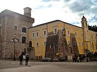 Rocca dei Rettori, a castle in Benevento, southern Italy.jpg