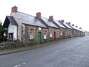 Rockcorry - Rockcorry, mill-workers cottages