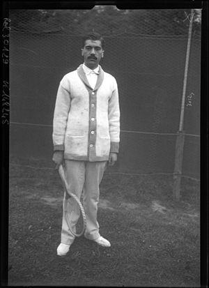 Rolf Kinzl - Kinzl at the 1913 WHCC