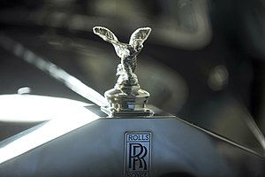 Presidential State Car (Brazil) - Kneeling version of the Spirit of Ecstasy on the presidential Rolls Royce.