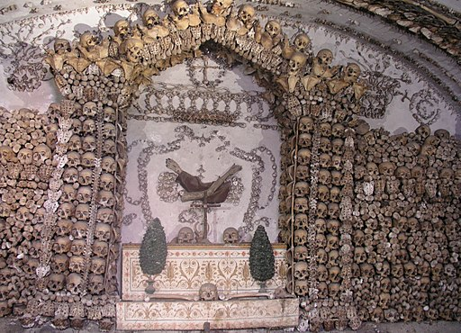 Rom, Santa Maria Immacolata a Via Veneto, Krypta der Kapuziner 1