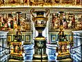 Rom - Vatikanische Museen, Sammlung im Großer Saal der Bibliothek, Salone Sistino (8261342594).jpg