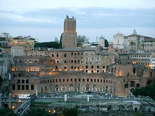 Roma, vista 03 mercati di traiano.JPG