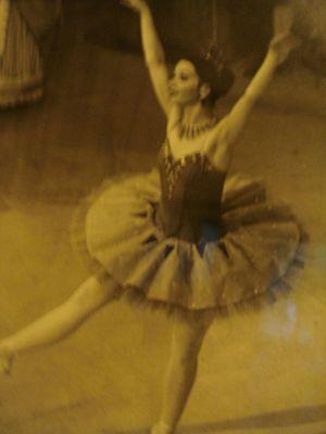 Roma Egan - Roma Egan at a dress rehearsal of Sleeping Beauty in the 1970s.