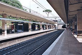Image illustrative de l'article Piramide (métro de Rome)