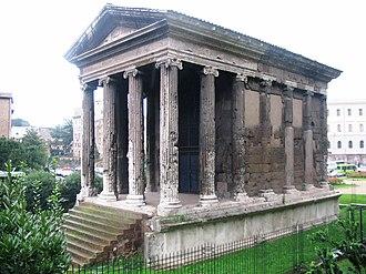 Temple of Portunus -  the temple in Rome