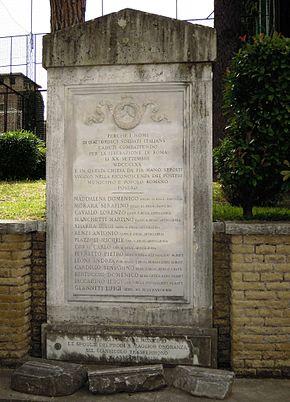 Presa Di Roma Wikipedia