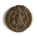 Romerskt mynt med segergudinnan Viktoria, 320-tal - Skoklosters slott - 110717.tif