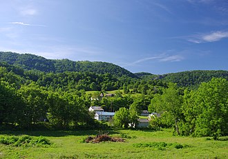 Lee County, Virginia - Mountains near Rose Hill