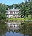 Roslyn Presby Church pond jeh.jpg