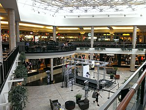 Ross Park Mall - The center of the mall