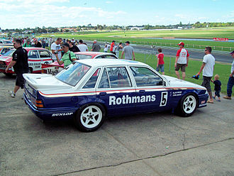 Rothmans International - Image: Rothmans 'HDT' Holden VL Commodore Group A SS