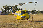 Rotorwing Helicopter Services (VH-UHY) Garlick Bell UH-1H at Wagga Wagga Airport (1).jpg