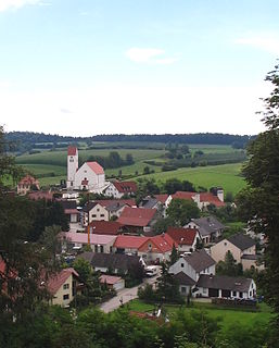 Rottenegg, Geisenfeld Village in Bavaria, Germany