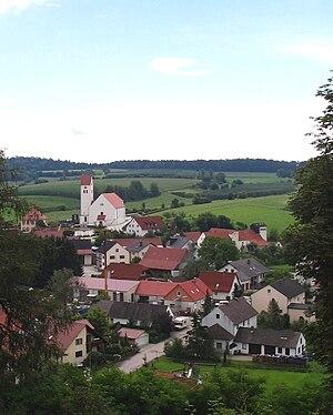 Rottenegg, Geisenfeld - View of Rottenegg
