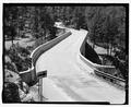 Route 87, Beaver Creek Bridge, deck view. View S. - Beaver Creek Bridge, Hot Springs, Fall River County, SD HAER SD-53-2.tif