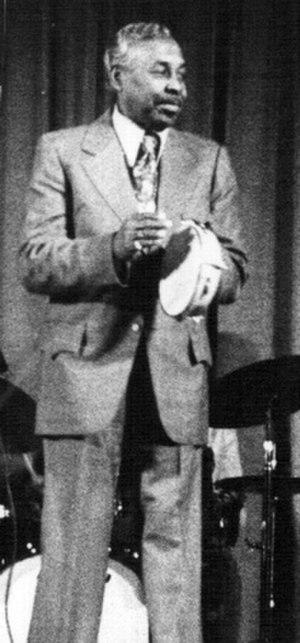 Roy Milton - Milton in 1977