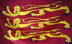 Royal Arms of England - Image: Royal Banner of England
