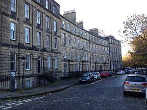 James Maidment - Royal Crescent 15-23, Edinburgh