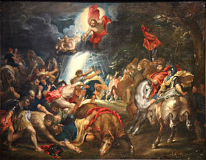 The Conversion of Saint Paul (Rubens, London) - Image: Rubens Rubenshuis saint Paul