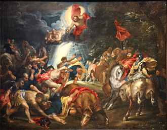The Conversion of Saint Paul (Rubens, London) - Image: Rubens Rubenshuis saint Paul