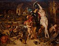 Rubens & Bruegel, Return from War, Mars Disarmed by Venus c1610ff.jpg