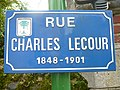 Rue Chales Le Cour - Panneau de rue.jpg