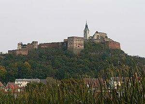 Güssing - Image: Ruine der Festung Güssing
