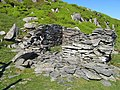 Ruined building 2, Tal y Fan Quarry - geograph.org.uk - 1358145.jpg