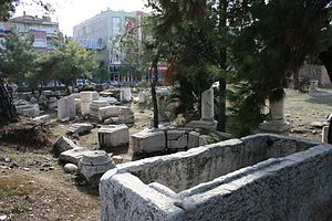 Thyatira - Ruins of the city.