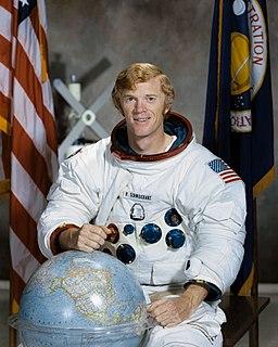 Rusty Schweickart American astronaut