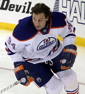 Ryan Smyth retired Canadian professional ice hockey winger