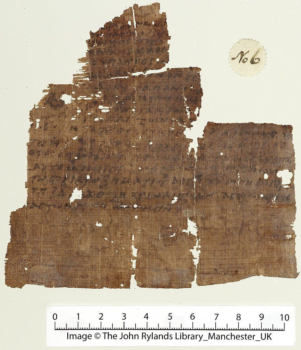 Rylands Nicene Creed papyrus