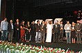 S.S. Sidhu, the Chief Guest and renowned film actor Shri Mamooty, the Minister of State for Information and Broadcasting, Dr. S. Jagathrakshakan and the Chief Minister of Goa.jpg
