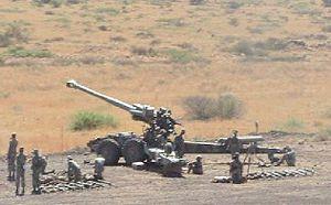 South African Army Artillery Formation - SANDF G5 artillery Lohatla