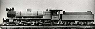 1915 in South Africa - Class 16A