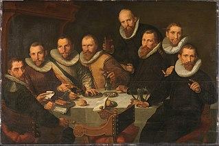 Guardsmen of the Company of Captain Pieter van Neck (fragment)