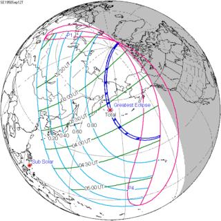 Solar eclipse of September 12, 1950
