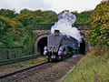 SIR NIGEL GRESLEY emerges from Farnworth Tunnel.jpg