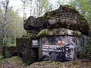 SK16 bunker of Mannerheim line